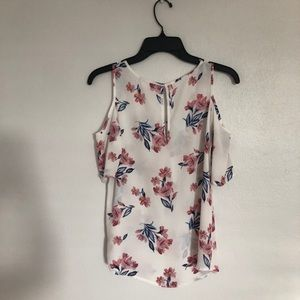 Floral blouse.  Very light and fresh.